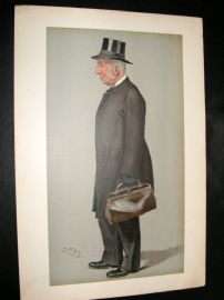 Vanity Fair Print 1901 Provost of Eton, Mr Hornby